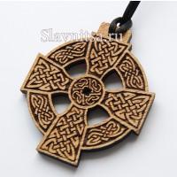 Кельтские крестики, кельтские узоры из дерева